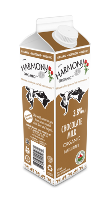 Organic Chocolate Milk One Litre Carton
